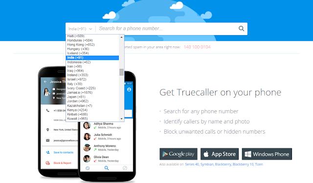 Cara Melacak Lokasi Nomor Telepon Nama dan Alamat - Truecaller 1 2