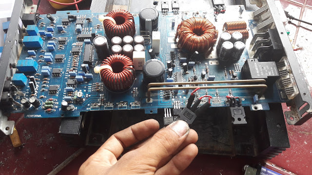 irf460 power amplifier