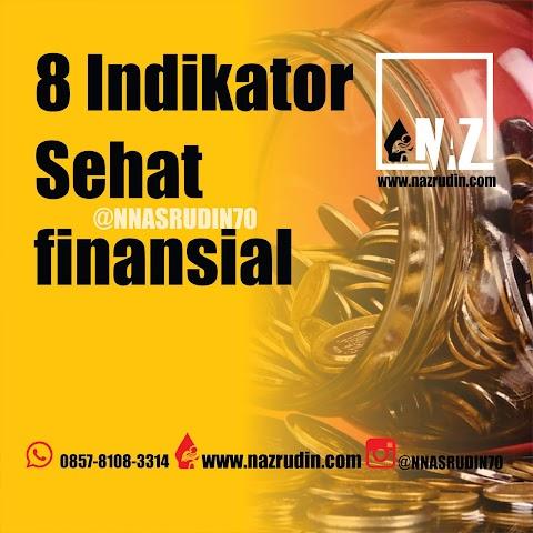 8 Indikator Sehat finansial