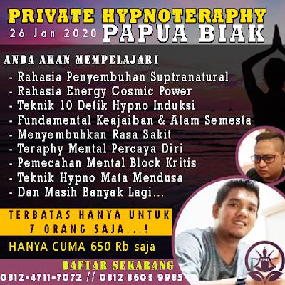belajar hipnotis papua