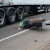 Motociclista morre em colisão com carreta na BR 116