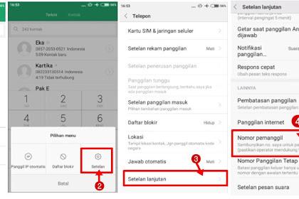 Cara Private Number di Android