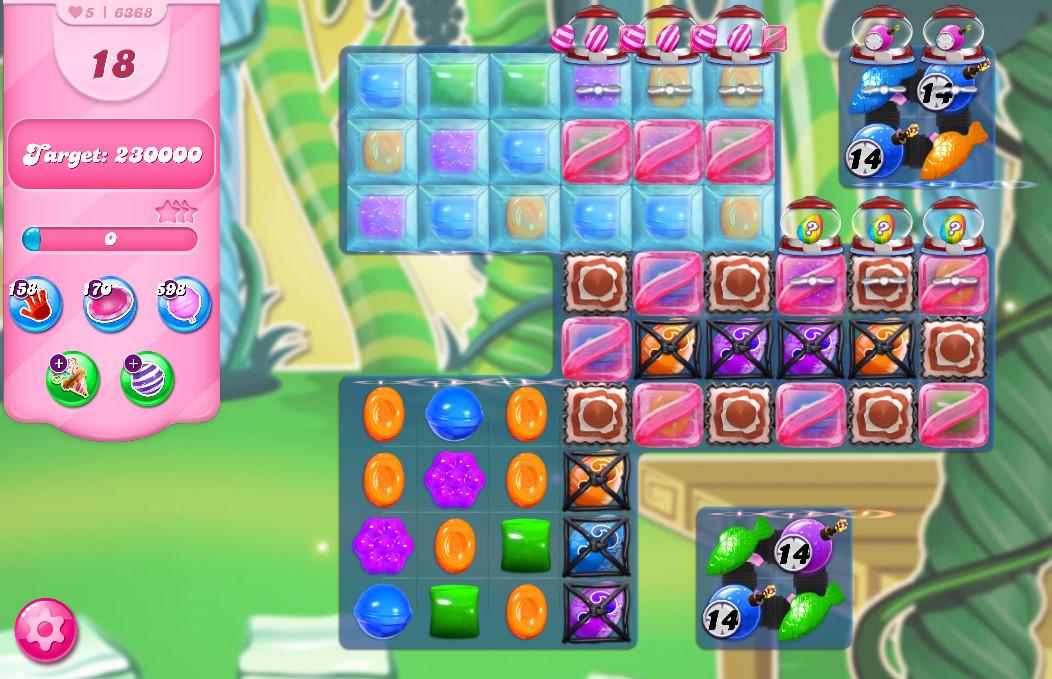 Candy Crush Saga level 6368