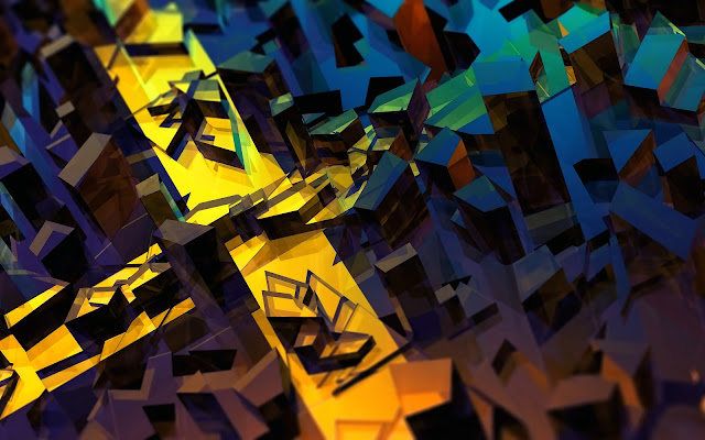 wallpaper splinters 3d abstract hd wide