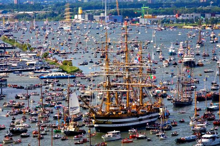 SAIL Amsterdam: Самый Большой Парад Судов