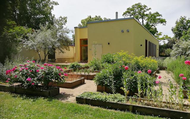 Kloster Memleben - Klosterpforte und mittelalterlicher Klostergarten