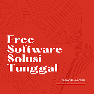 cover Free Software Solusi Tunggal