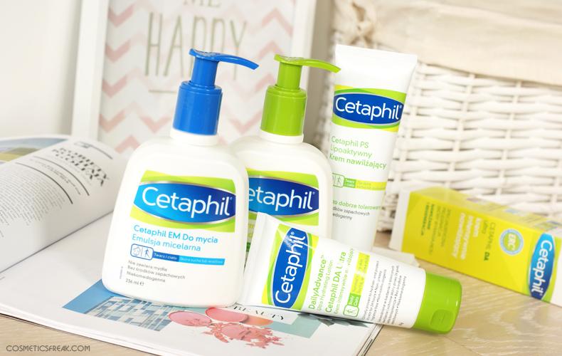 kosmetyki cetaphil do skóry suchej
