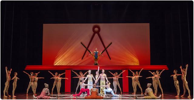 La flûté enchantée de Mozart par  Béjart Ballet Lausanne