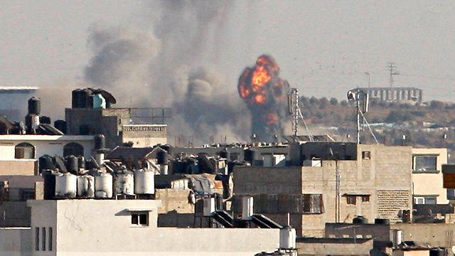 Ataques aéreos israelíes en Gaza después del cohete en Sderot