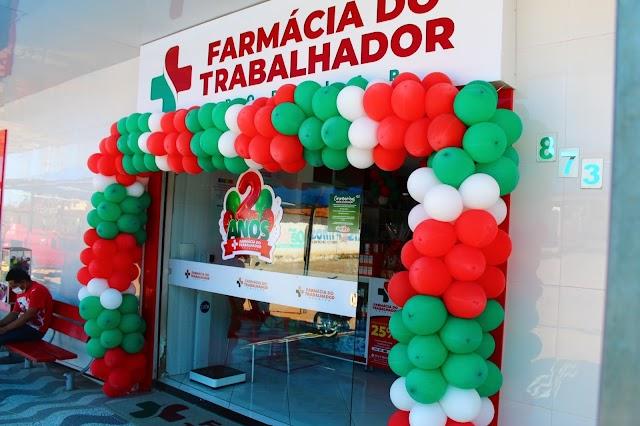 Farmácia do Trabalhador Popular completa dois anos em Umarizal com sorteio e promoções!