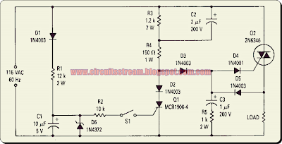 Triac 0 Point Switch Circuit Diagram