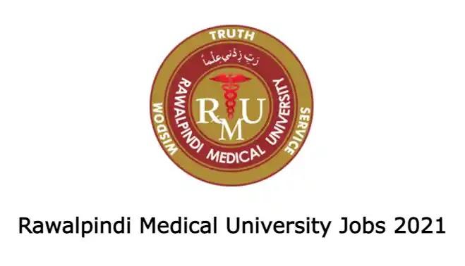 Rawalpindi Medical University Jobs 2021 Advertisement