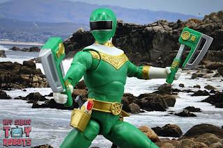 Power Rangers Lightning Collection Zeo Green Ranger 23