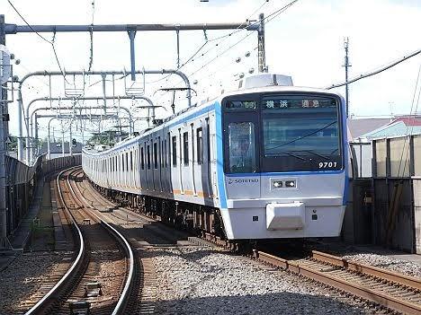 【ダイヤ改正で新設!】9000系幕車 通勤急行 横浜行き