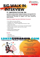Walk In Interview di PT. Smartfren Telecom Tbk Surabaya Terbaru Oktober 2019