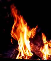 Feuer Wintersonnenwende Bischleben 2020