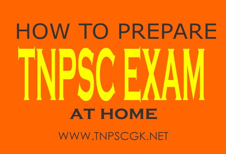 how to prepare tnpsc exam at home