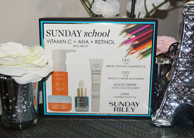 Sunday Riley Sunday School Set | bellanoirbeauty.com