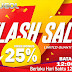flash sale BONUS 25% SATUGOL