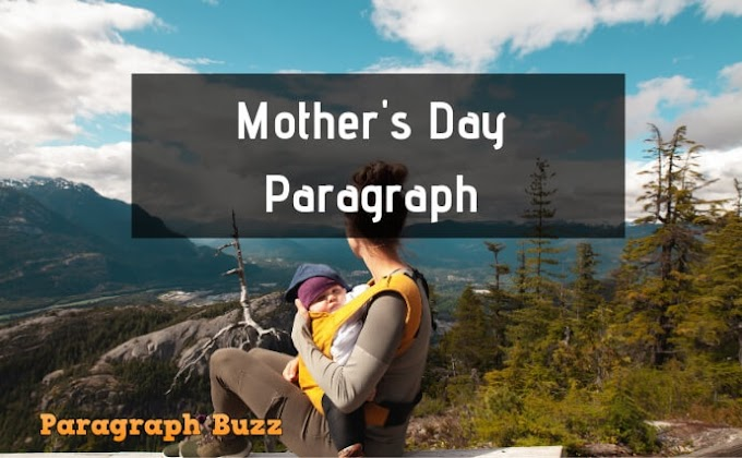 Mother's Day Paragraph for Children and Students