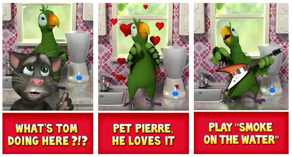 Talking Pierre the Parrot MOD Game