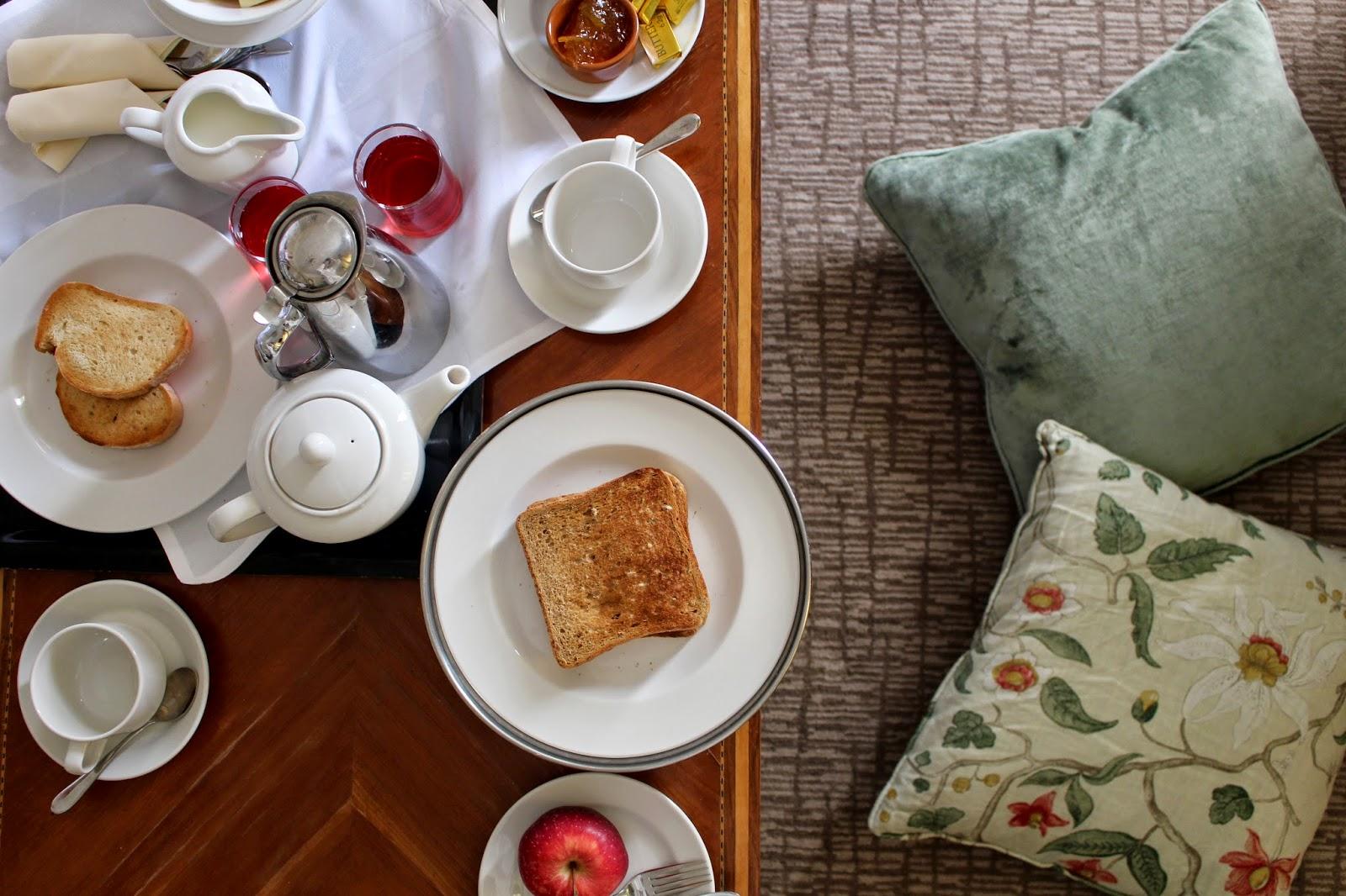 Champneys Henlow Room Service