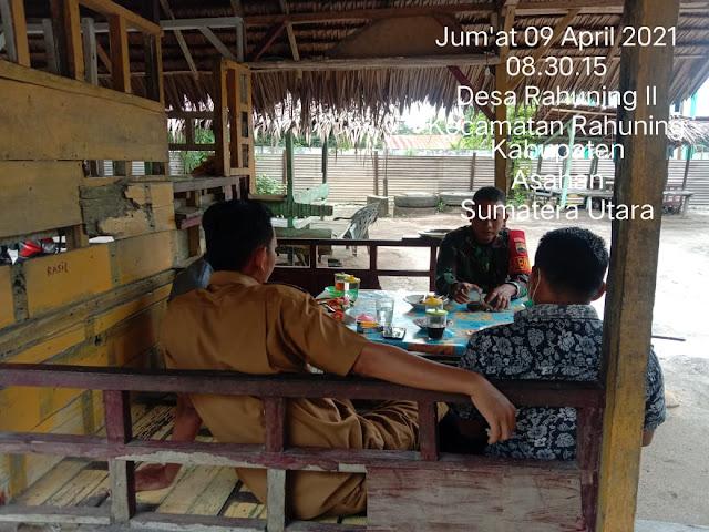 Jalin Komunikasi Dengan Masyarakat Dilakukan Personel Jajaran Kodim 0208/Asahan Diwilayah Binaan