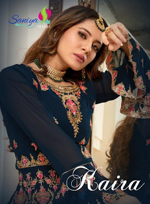 Saniya kaira vol 1 Georgette pakistani Suits catalog wholesaler