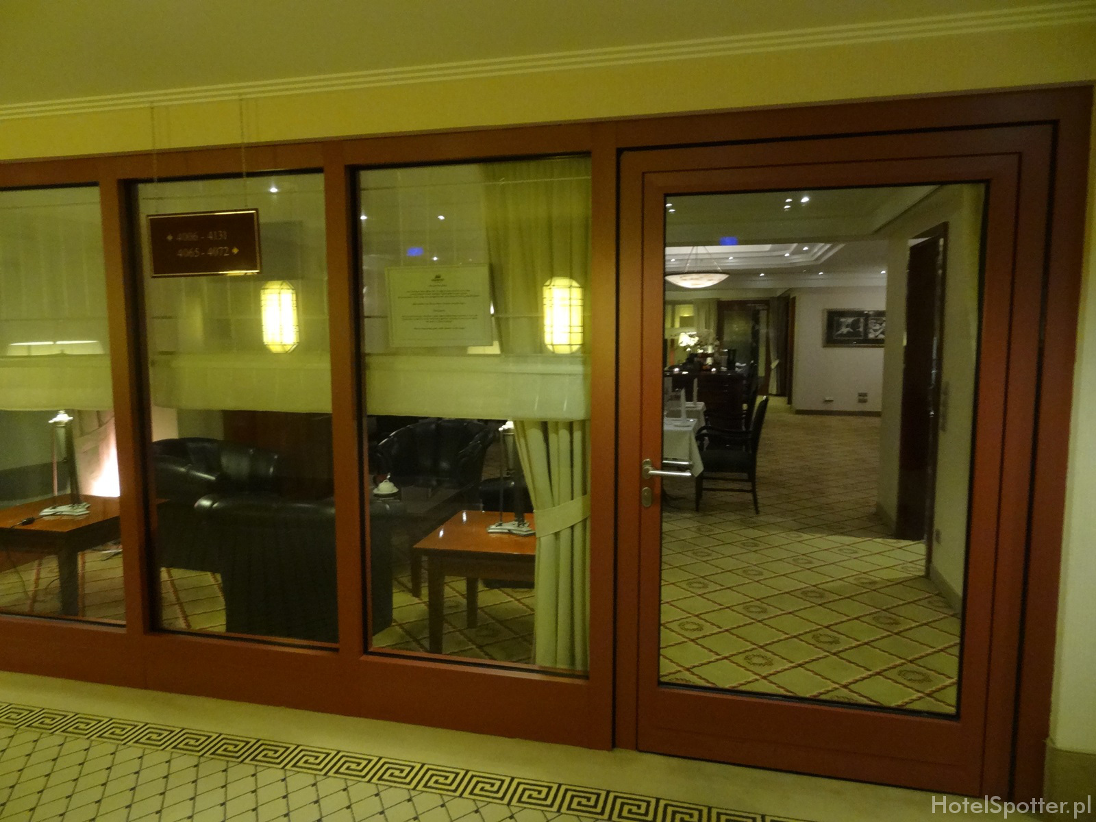 Maritim Hotel Berlin - wejscie club lounge entrance