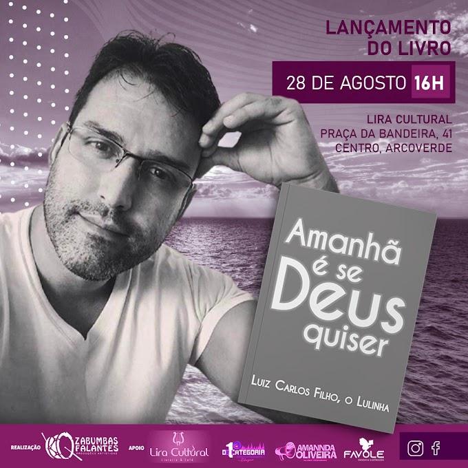 Empresário Artístico há 25 anos e escritor, Luiz Carlos, mais conhecido como Lulinha, lança obra literária na Lira Cultural em Arcoverde