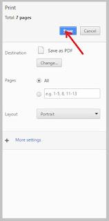 cara menyimpan halaman web
