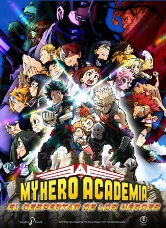 Anime de My Hero Academia (Boku no Hero) de superhéroes