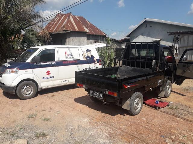 Suzuki Service Car menerima panggilan ke rumah