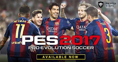 Download PES 2017 Game