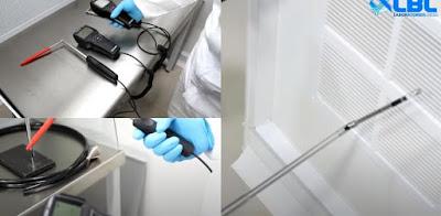 Kiểm tra độ bụi trong phòng sạch
