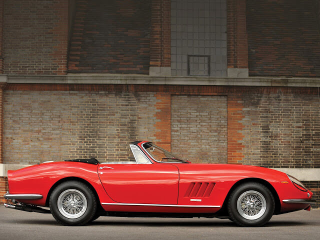 Ferrari 275 Spider Specifications