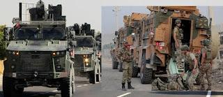 بداعي السيطرة على الفوضى والتفجيرات التي تضرب سري كانيه / رأس العين السورية تركيا ترسل قواتها الخاصة للمدينة