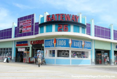 Kohr Bros Ice Cream Wildwood Boardwalk in New Jersey