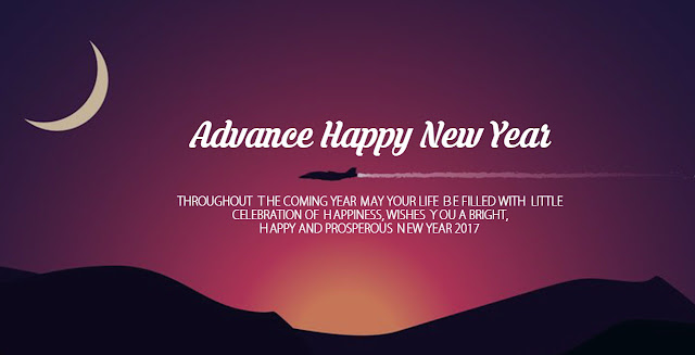 Happy New Year 2017 Wishes In Advance