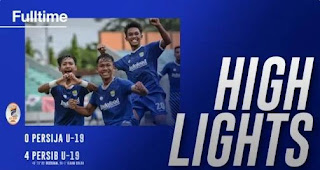 Persija vs Persib 0-4 Highlights - Perempat Final Liga 1 U-19 2018
