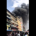 Fire breaks out at Balogun market in Lagos Island (Videos)