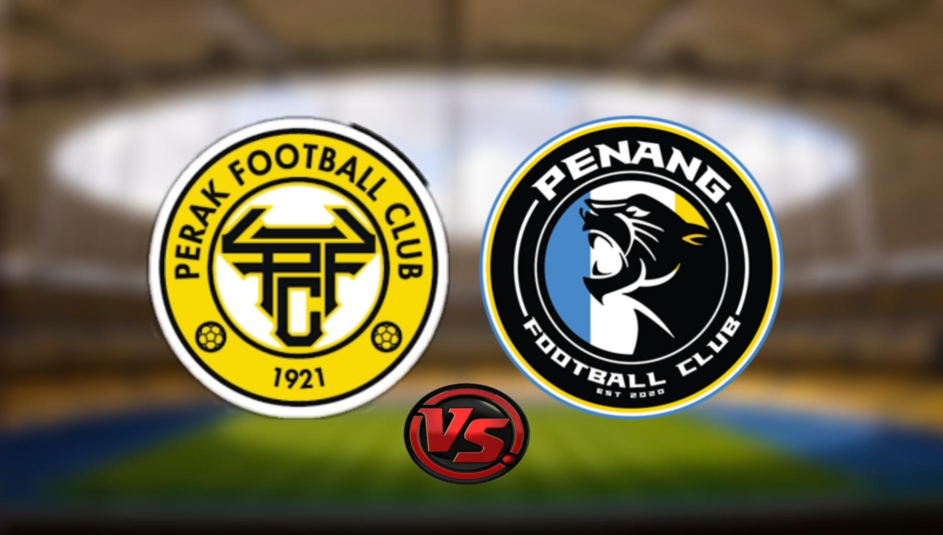 Live Streaming Perak FC vs Penang FC Liga Super 3.8.2021