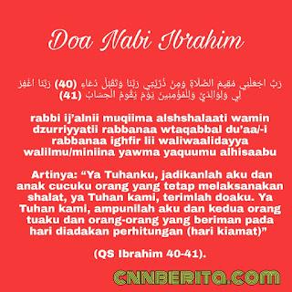 Doa Nabi Ibrahim Untuk Anak-anaknya