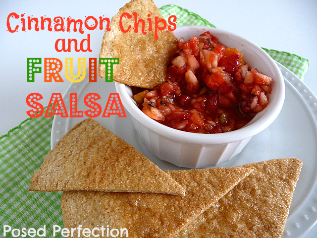 Cinnamon Chips & Fruit Salsa