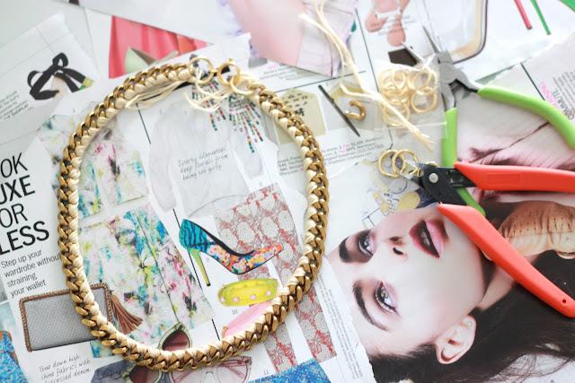 DIY Aurelie Bidermann Inspired Chain Necklace