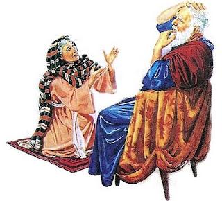 la viuda y el juez
