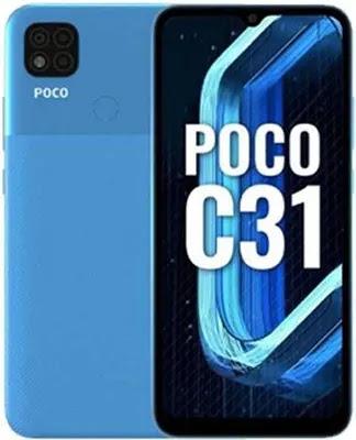 Poco C31 Specifications