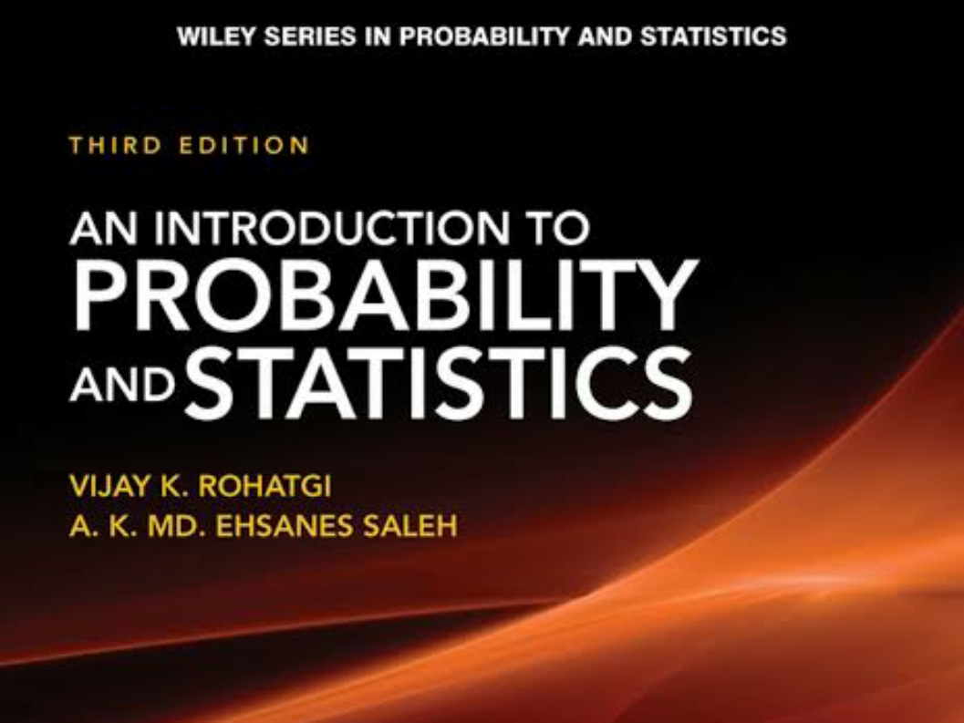 free download: An Introduction to Probability and Statistics (Wiley Series in Probability and Statistics)