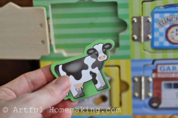 Fine Motor Coordination: Keeping Little Ones Hands Busy. puzzle with hidden toys
